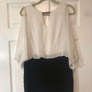 Cache White & Black Dress